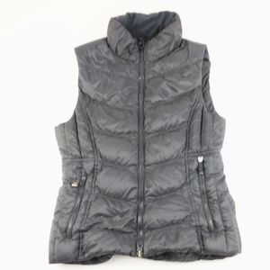 Lululemon Black Puffer Vest Medium Women's Down